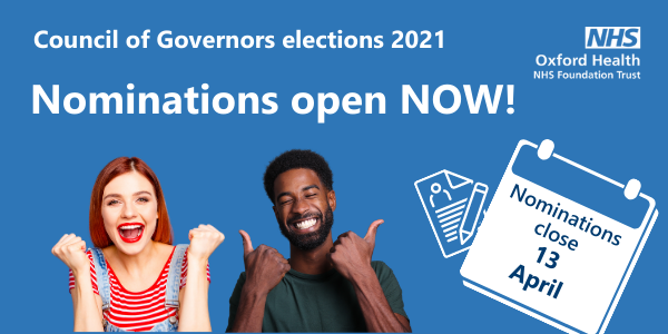 Notice of Election to Council of Governors 2021