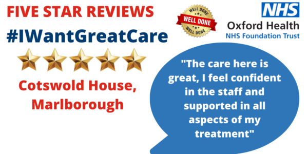 Compassionate care makes Cotswold House our five star team