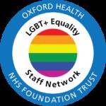 Oxford Health LGBT+ Equality Staff Network logo