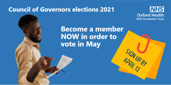 Become a member now to have your say in May