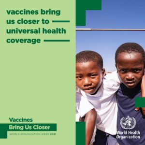 Vaccines bring us close to universal health coverage