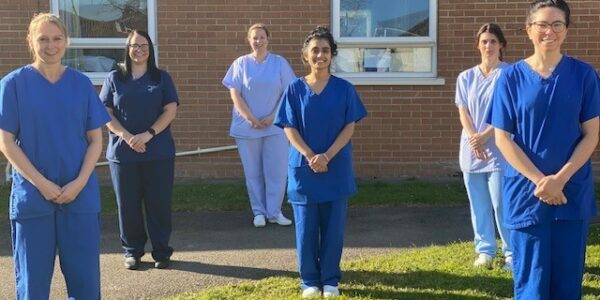 Smiles all round for this community dental team