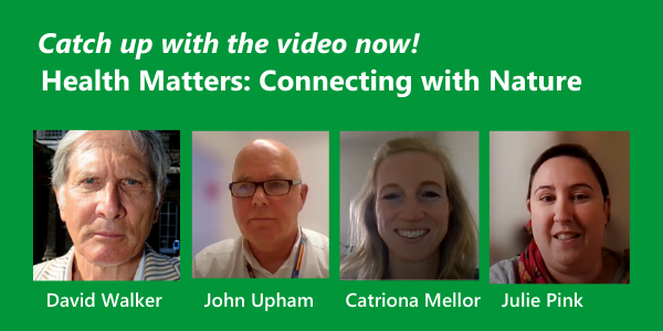 WATCH NOW: Health Matters: Connecting with Nature