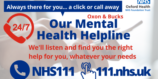 Our 24/7 mental health helpline: Whatever your needs, we are there to help you