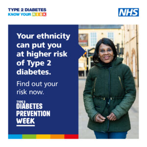 Diabetes prevention week campaign poster