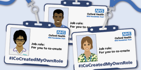 Your next 'co-created' role could be with Oxford Health