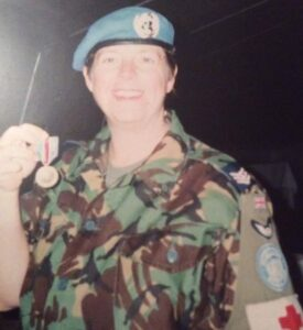 Carol Duncombe RAF