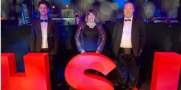 Vaughan Thomas team win TWO prizes at HSJ Partnership Awards