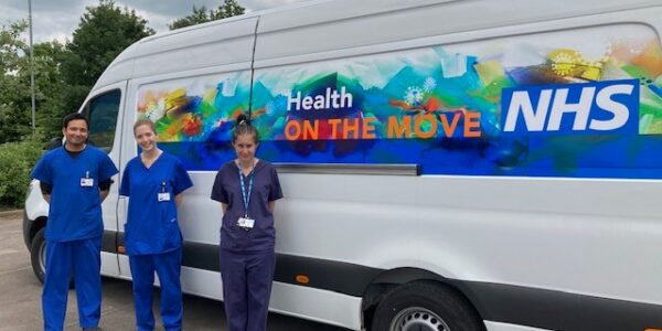 Vaccine programme hits road with Health on the Move mobile clinics