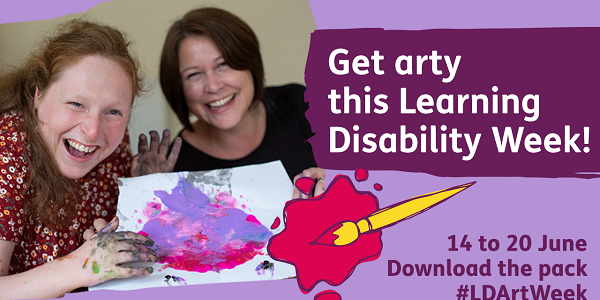 Get arty this Learning Disability Week