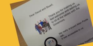 Feedback letter