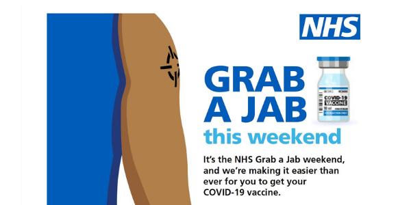 Walk in vaccine clinics: Grab a Jab in Aylesbury