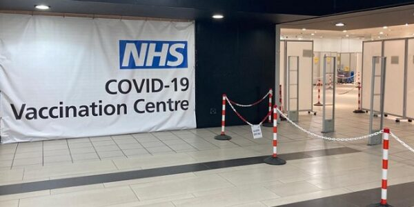 Reading vaccination facility reopens in town centre venue