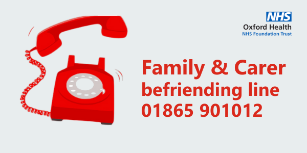 Are you a carer? Care for a chat?