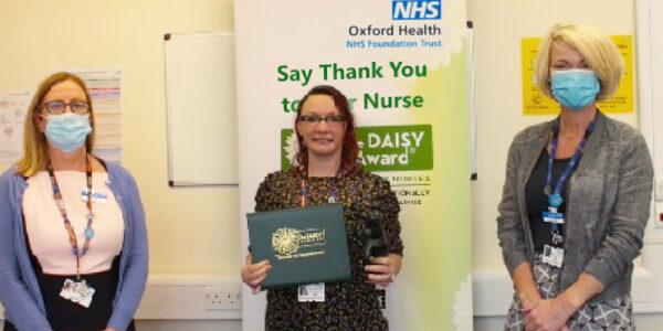 It's DAISY award time for mental health nurse Lisa