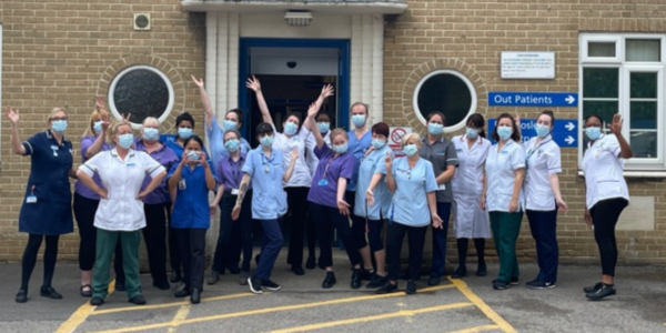 Rehabilitative and supportive care results in five stars for Didcot ward