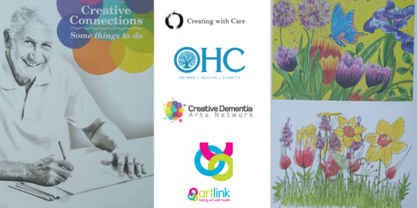 Colouring book helps older patients to make creative connections