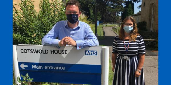 MP tours Oxford Health 'extraordinary care facility'