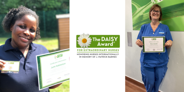 Nurses' commendations stem from DAISY nominations