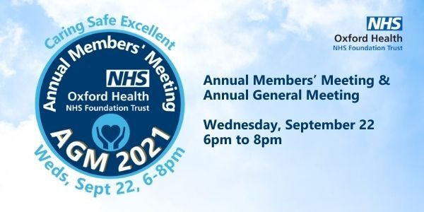 Join our Annual Members' Meeting & Annual General Meeting