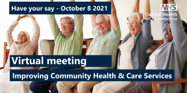Have your say on the community services review at a virtual public meeting