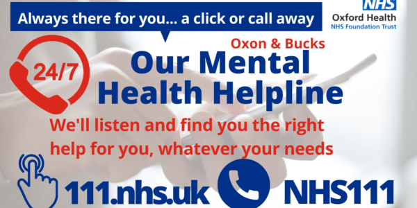 Mental health support is just a click or call away
