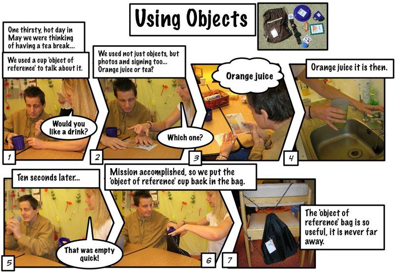 Objects Comic