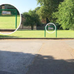 Photo of directions to Mable House from the car park