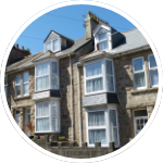 Photo of a terraced house.